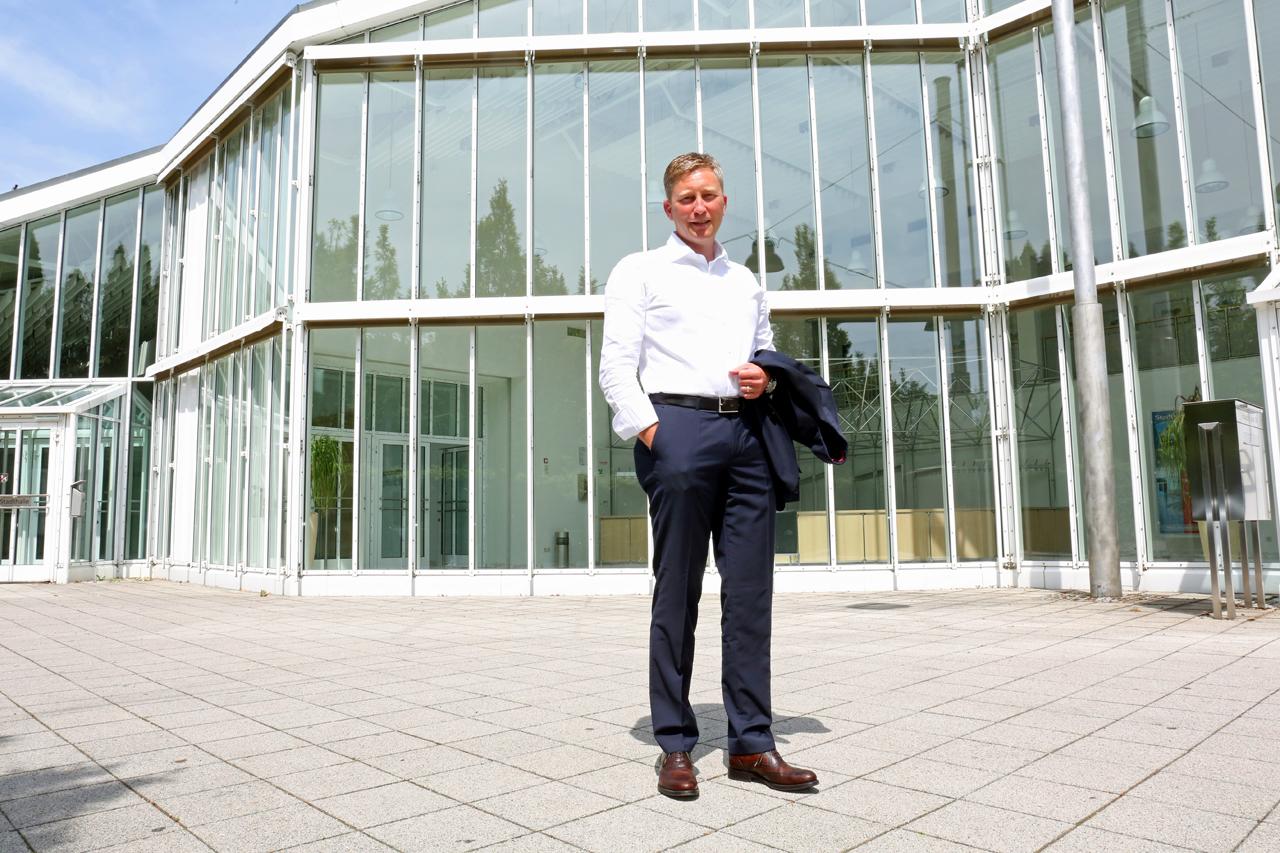 Bürgermeister Richard Greiner der Stadt Neusäß.